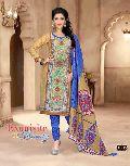 Designer Printed Cotton Salwar Suit
