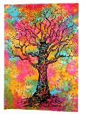 Tapestry Multicolor Tree Wall Hanging