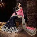 Jacquard Designer Saree with Black Color