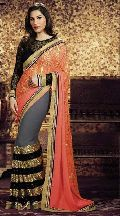 Stylish Jacquard Designer Saree