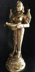 Brass Lady Lamp