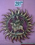 Gunmetal Durga Mata Wall Hangings