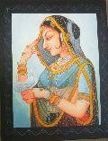 Rajasthani Realistic Canvas Paintings
