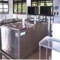 Stainless steel milk reception tank, Dairy Equipment