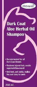 Petswill Dark Coat Aloe Herbal Oil Shampoo