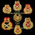 Embroidered Army Blazer Badges