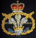 Embroidered Army Frame Badges