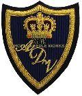 Embroidered Polo Blazer Badge