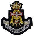 Embroidered Regimental Badges