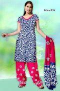 Batik Hand Block Print Dress Material