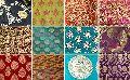 Cotton Satin Border Fabric