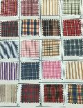 Checkered School Uniform Fabric