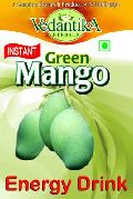 Instant Green Mango Energy Drink