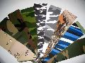 Cotton Camouflage Printed Fabric