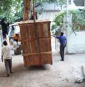 Heavy Machine Wood Boxes