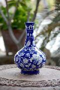 Blue Pottery Surahi Vase