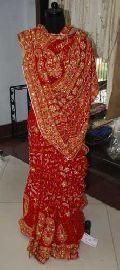 Chikan Embroidered Saree 004