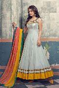 Patel Marketers off white net desiner  salwar suit pm-68