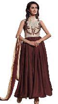 Patel Marketers  Royal brown georgette desiner salwar suit pm-59