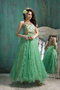 Patel Marketers  Royal C green soft net desiner salwar suit pm-19
