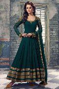 Patel Marketers  Royal green georgette desiner salwar suit 55