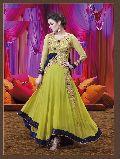 Patel Marketers Royal light green georgette salwar suit pm-65
