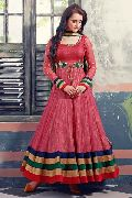Patel Marketers  Royal onion pink soft net desiner salwar suit pm-21