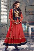 Patel Marketers  Royal pink georgette desiner salwar suit pm-13