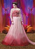 Patel Marketers Royal pink georgette desiner salwar suit set pm-66