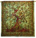 Tree Printed Tapestry