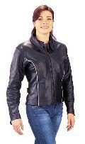 Ladies Leather Jacket 03