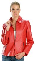 Ladies Leather Jacket 04