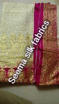 Designer Pure Katan Silk Sarees