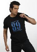 Mens Black Karma T shirt