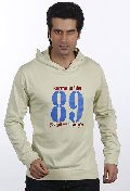Mens Pista Green Karma Hooded Sweat Shirt