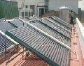 Solar Water Heater System Manifold Type