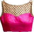 Latest Pink Color Beautiful Designer Blouse