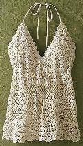Ladies Crochet Tops - (ts-041)