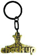 Brass Keychain (BR 01 Check Up)