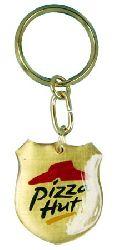 Brass Keychain (BR 09 Pizza Hut)