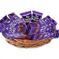 Dairy Milk Chocolate Gift Basket