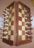 Wooden Chess Box