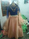 Resham Work Embroidery LEHNGA CHOLI