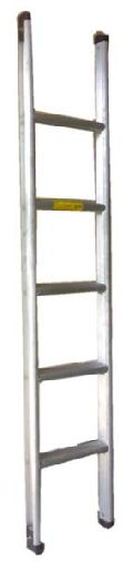 Aluminium wall support ladder
