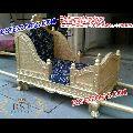 Golden Open Wedding Doli/Palki