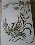 Peacock Printed MOP Stone Slabs
