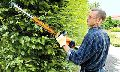 Cordless Li-Ion hedge trimmers