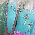 DESIGNER GEORGETTE HAND WORK SUIT W-698
