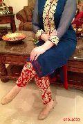 ladies wear new Blue color Georgete Party Wear Salwar Kameez