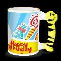Animal Handle Mug - Tiger